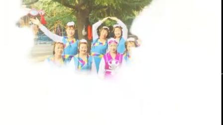 十月玫瑰(🌹中间紫色蒙族演出服)2019年9月29号下午和舞蹈队姐妹西苑公园庆国庆七十周年舞蹈照片