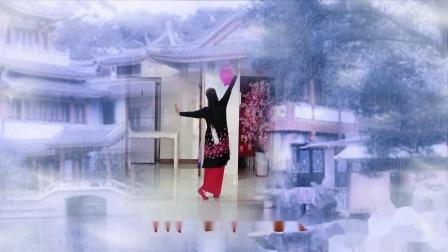 红尘雨〖背面〗扇子舞 曾惠林舞蹈系列