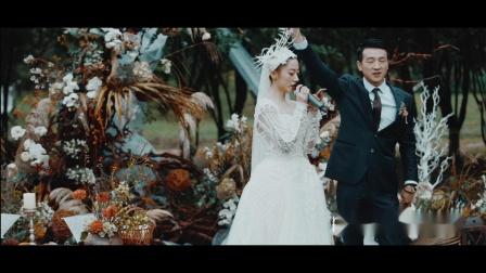 "Matchmax(麦弛)作品:""北京的一个雨天""雨中户外婚礼"