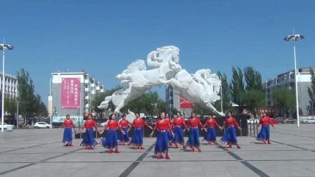 通辽市快乐美舞蹈队 藏族舞蹈 吉祥欢歌
