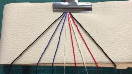 【编绳】macrame友谊手绳泰国风格配色刺绣线材质
