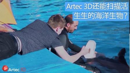 使用Artec Eva 3D扫描科技实现最先进的海洋生物追踪技术
