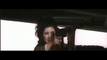 反派女特务被射杀