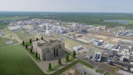 巴斯夫施瓦茨海德电池材料工厂——3D效果