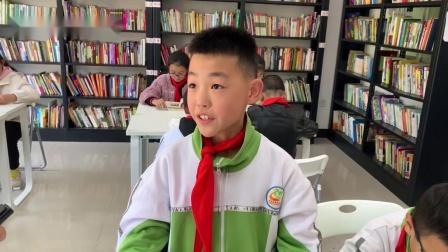 丹凤县竹林关镇的小学生们在中国社科院公益图书馆畅谈收获与感想
