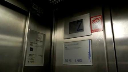 国外的墨水屏迅达M-TX/VF电梯