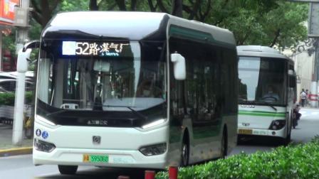 上海公交 巴士五公司 52路 S0R-0219