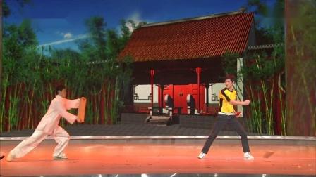 2009年中央电视台春节联欢晚会_高清彩排版  陈国坤 功夫世家