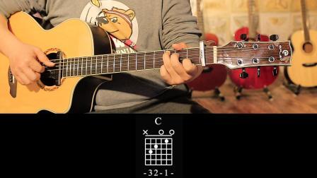 玩易吉他指弹 新年好 每日一句 第24课
