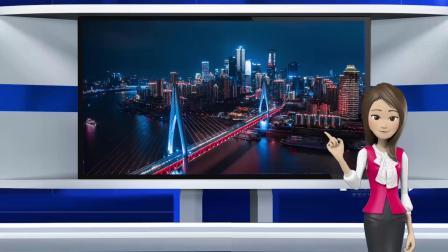 vMix专用虚拟集 演播厅动态直播间主持人抠像背景演播室场景三机位各四镜头