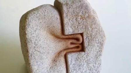西班牙雕塑家,雕刻出有魔力的石头