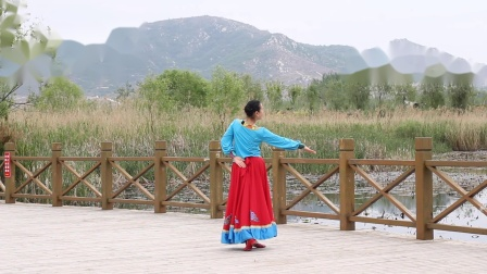 贞贞广场舞《我的母亲》编舞:西安笑言