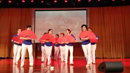 西大老年大学C班表演舞蹈《中国脊梁》