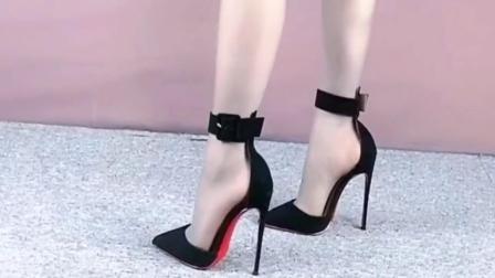 日常时尚穿搭狼性高跟鞋0301