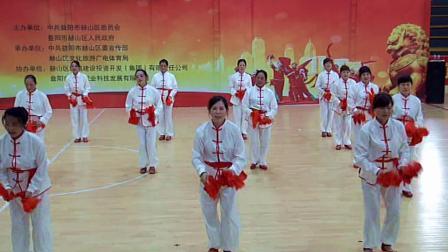 广场舞《中国范儿》会龙山街道演出