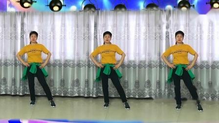 赣州康康原创广场舞《男朋友》(DJ改编版) 动感健身操 正反面 附教学