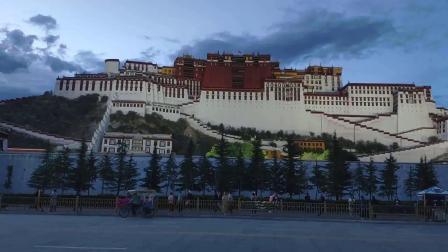 西藏布达拉宫及周边录像MV