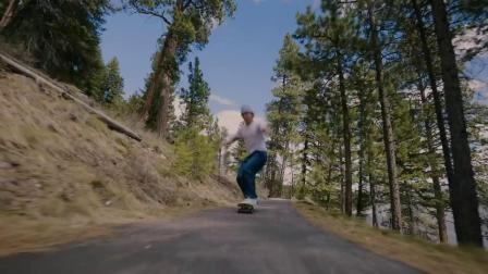 Skate Against A Race Drone   Karl Berglind 'Lunar Landscapes'