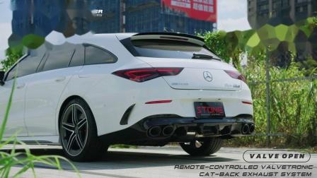 Mercedes AMG X118 M139 CLA45s / Stone Valvetronic Exhaust System