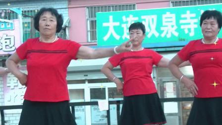 想你不敢联系你,广场舞,夹河金玛超市广场舞队