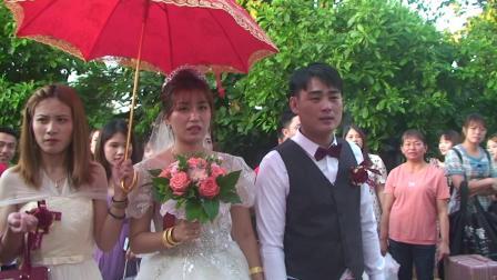 余明贤和陈桃梨婚礼