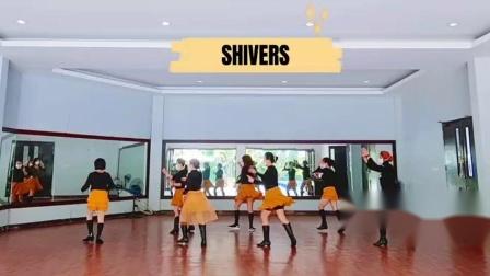排舞《毛骨悚然》 Shivers(不同版本)