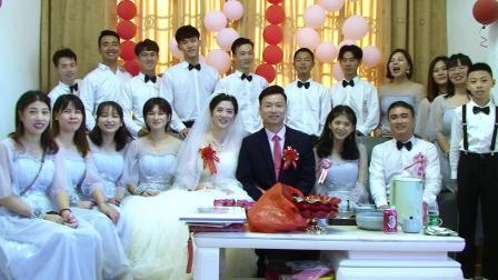 余良奋和杨月玉婚礼