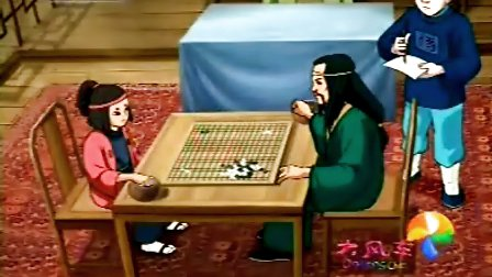 围棋少年22-大明棋手的失败