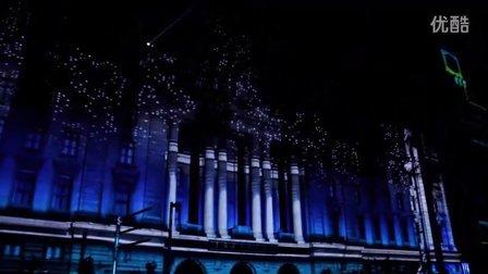 2012 上海外滩新年倒计时 3D灯光秀 街舞 跑酷 中国馆 Shanghai Bund