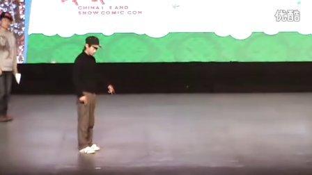 哈尔滨街舞 Dancing And ICE-SNOW 8进4 李兴旺vs 李云赞