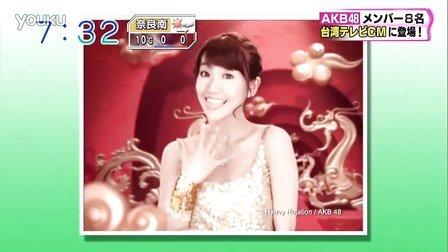 120119 AKB48 メンバー8名 台湾テレビCMに登場!