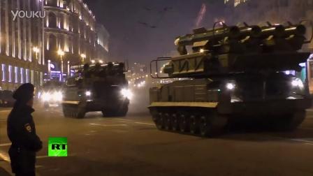 2014胜利节莫斯科阅兵晚间彩排(3)