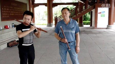《水乡船歌》笛子合奏—重庆大G&给力笛痴