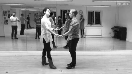 Sharon and Tony Lindy Hop - 17 Oct 2016