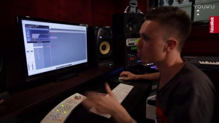 Nicky Romero creating Toulouse In The Studio With Future Music(From YouTube)