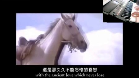 青藏高原.由昌群电子琴演奏