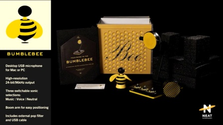 NEAT:BUMBLEBEE/大黄蜂 USB麦克风 视频演示