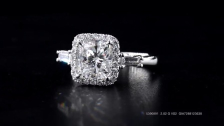#JCRW05390891#2.50克拉 白钻戒指