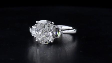 #JCRW05390883# 3.67克拉白钻戒指