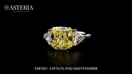 #JCRF05387421# 4.01克拉黄钻戒指