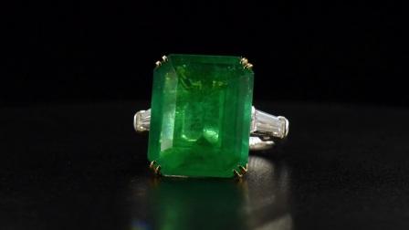#JCRG05379807# 14.11克拉祖母绿戒指