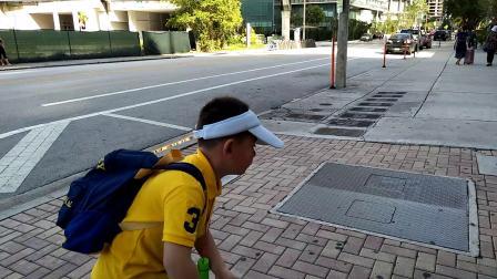 【6岁半】2-10哈哈一家整理行李,准备去迈阿密港登游轮video_101536