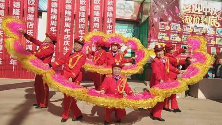 开业大吉燕子军乐队邵原超市开业庆典