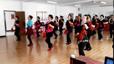 2016上课练习东北秧歌《大姑娘美》燕飞舞