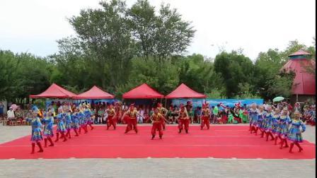 【新疆舞蹈大赛获奖作品】郭秀华舞团精湛演绎蒙古舞《草原阳光》