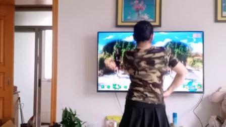 彩虹丹广场舞 山谷里的思念水兵舞 背面竖屏版
