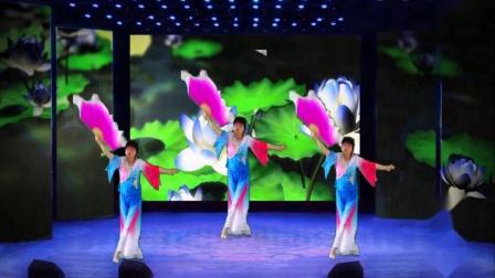 扇子舞--我爱你中国