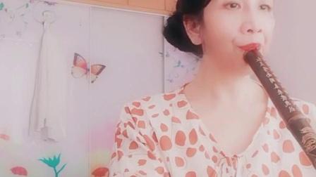 【梦中的额吉】F调箫练习(蓝玫)