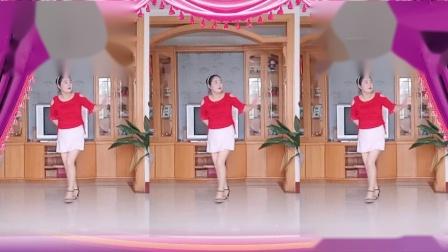 彩虹丹广场舞 等你等了那么久 百听不厌金典美歌美舞3人版