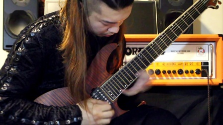 【电吉他】Jason Richardson 高能曲目 Titan 亢毛毛